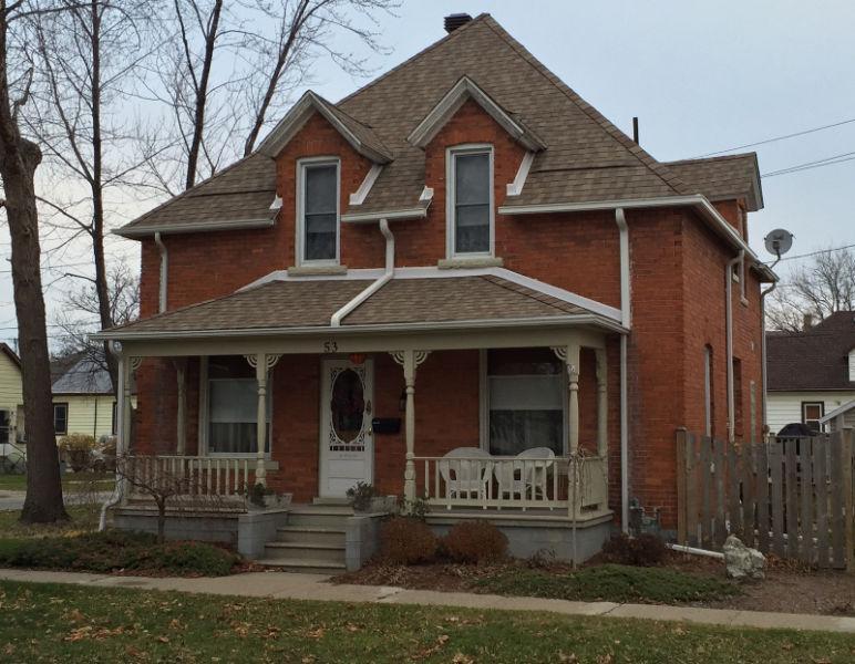 53 Orange Updated Victorian Home